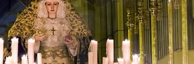Quédate con un recuerdo del Mater Dei.Adquiere una de las velas de la Candelería de Ntra. Sra. De la Caridad