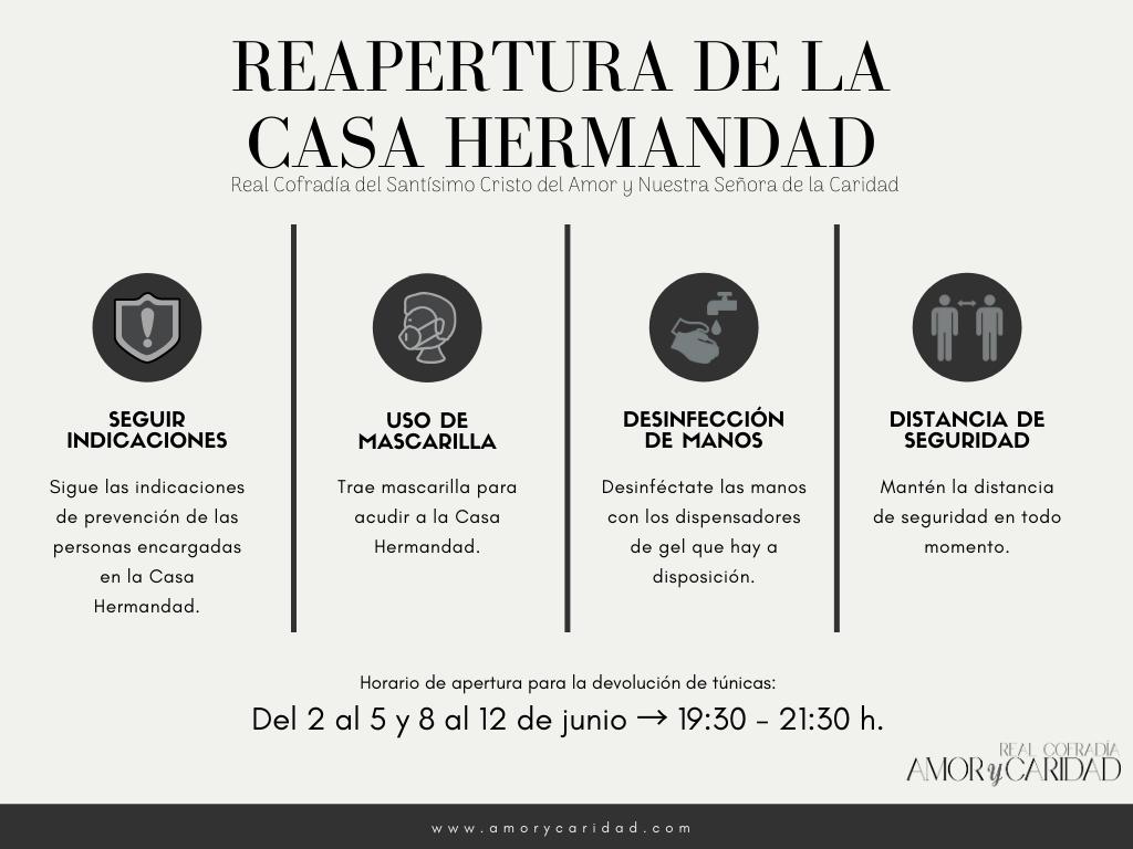 Reapertura Casa Hermandad